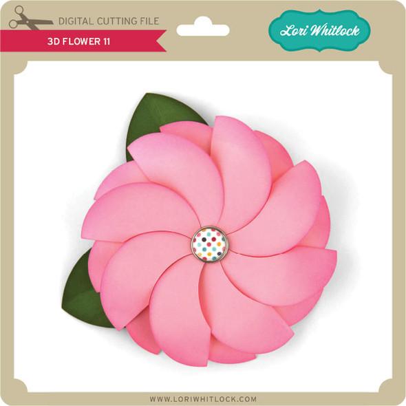 3D Flower 11