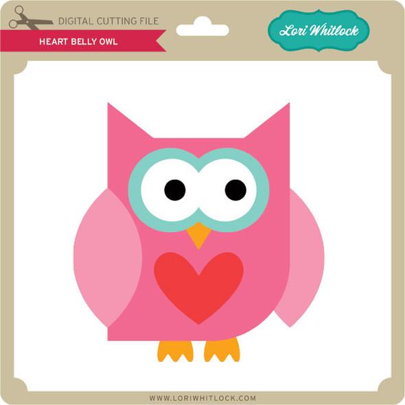 Heart Belly Owl