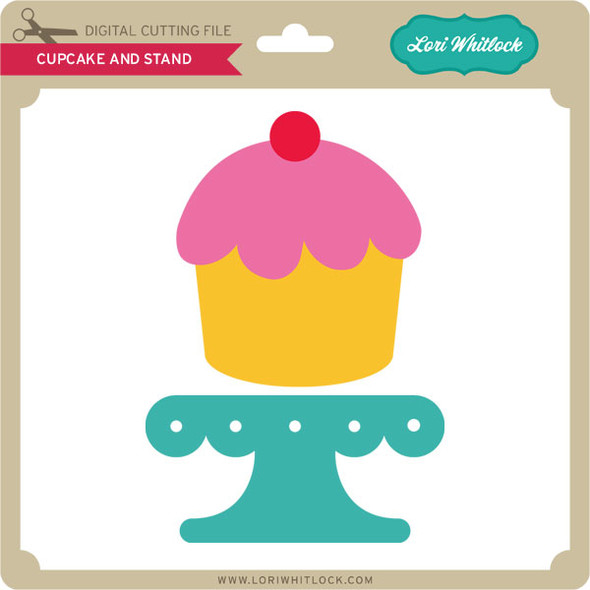 Cupcake and Stand