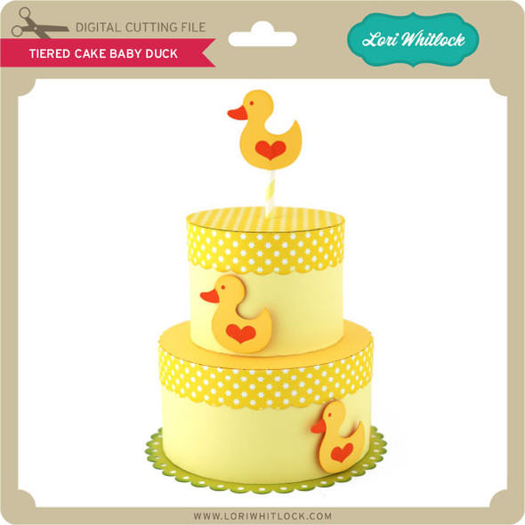Tiered Cake Baby Duck