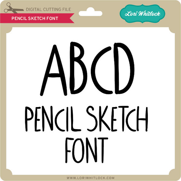 Pencil Sketch Font