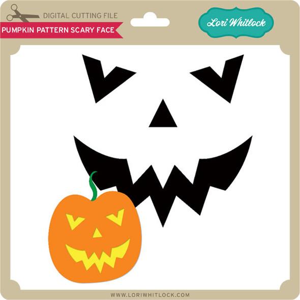 Pumpkin Pattern: Scary Face