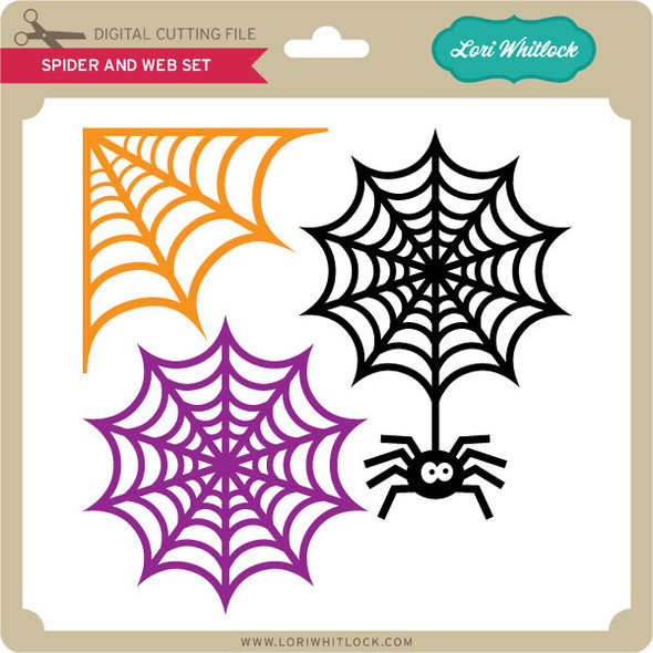 Spider and Web Set