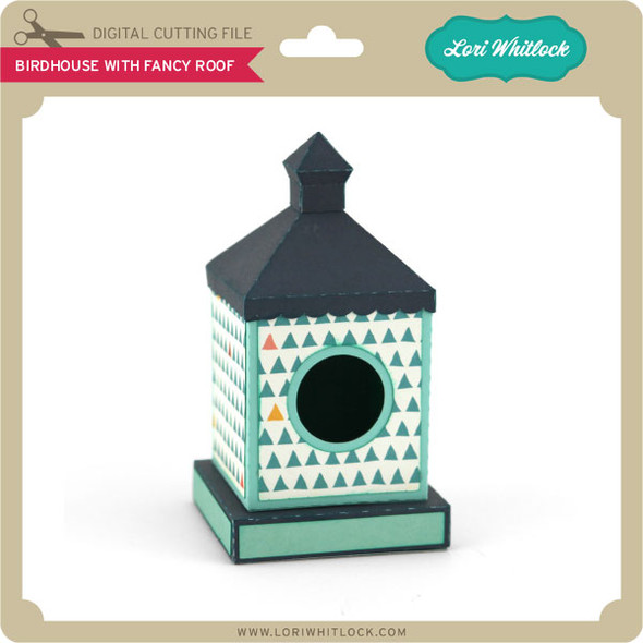 Birdhouse with Fancy Roof