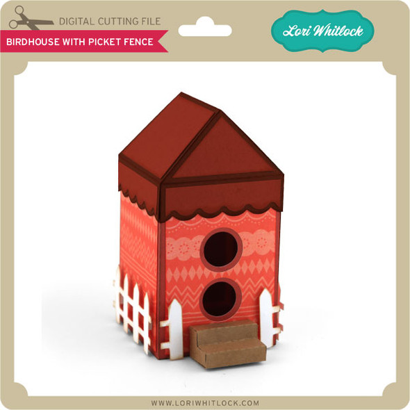 Birdhouse with Picket Fence
