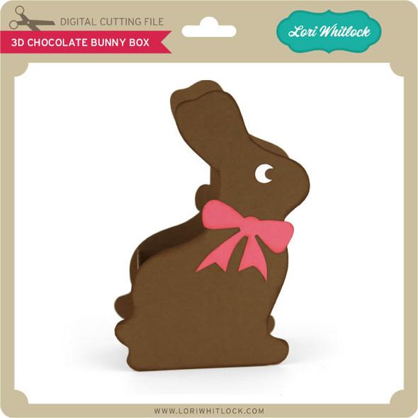 3D Chocolate Bunny Box