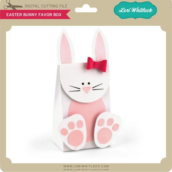 Easter Bunny Favor Box