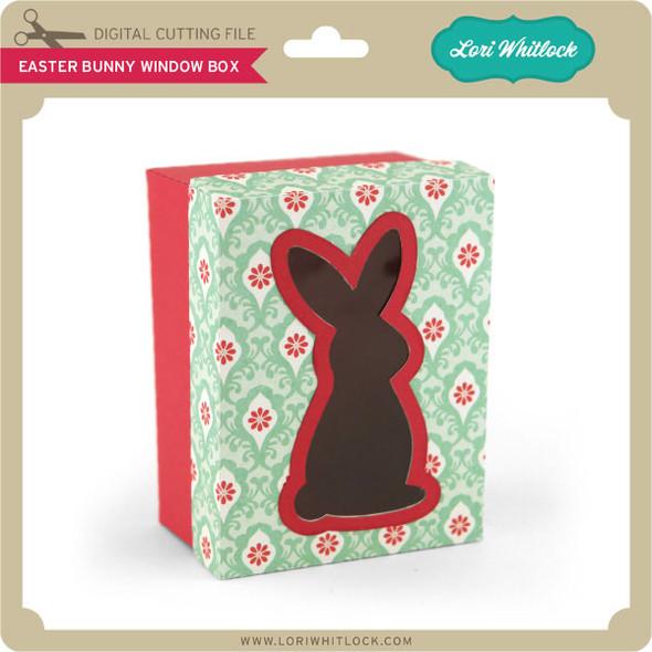 Easter Bunny Window Box