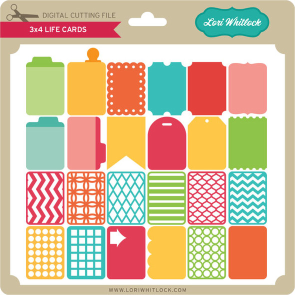 3x4 Life Cards