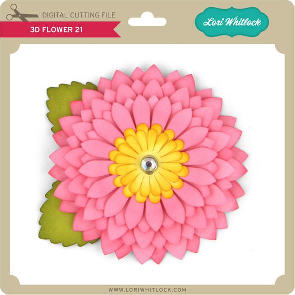 3d Flower 21