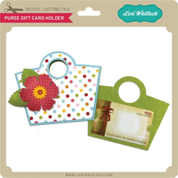 Purse Gift Card Holder