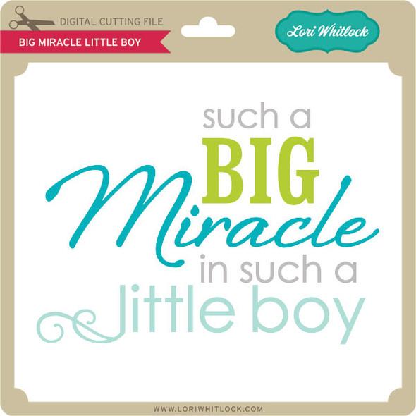 Big Miracle Little Boy