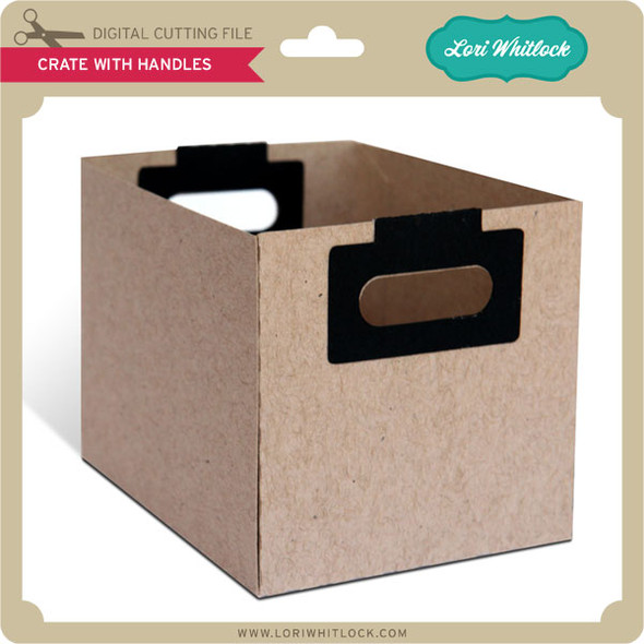 Crate with Handle Box