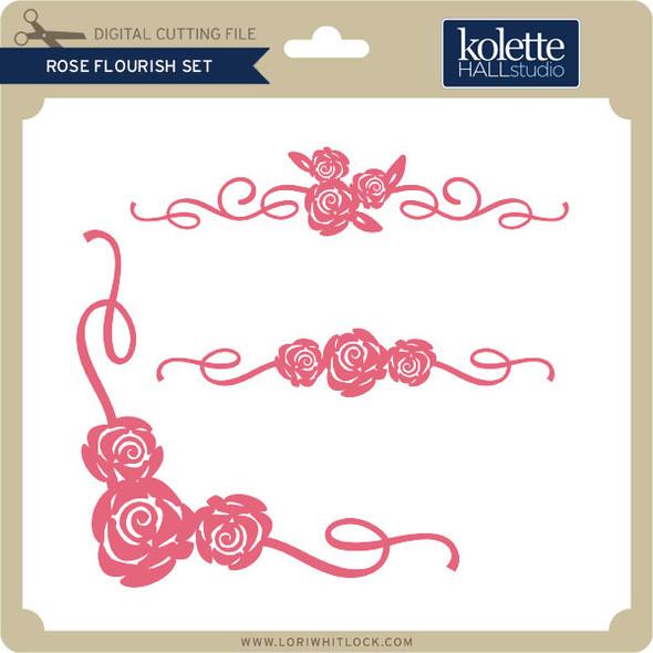 Rose Flourish Set