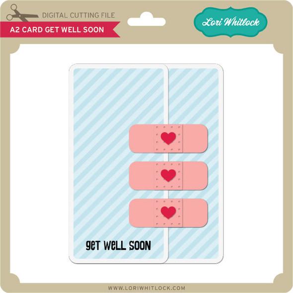 A2 Card Get Well Soon