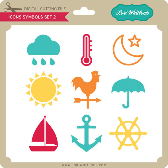 Icons Symbols Set 2