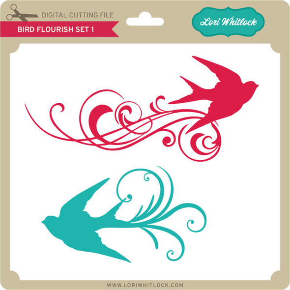 Bird Flourish Set 1