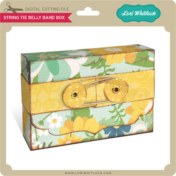 String Tie Belly Band Box