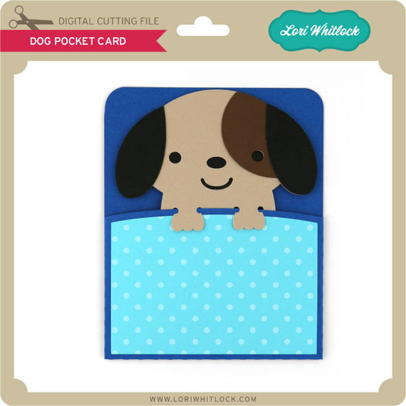 Dog Pocket Card