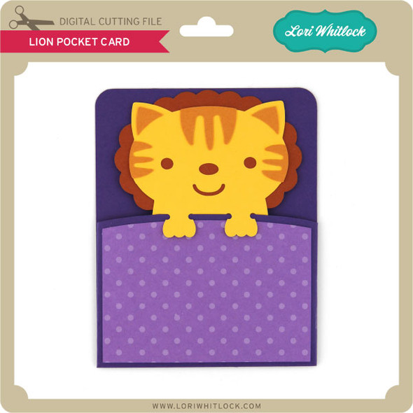 Lion Pocket Card