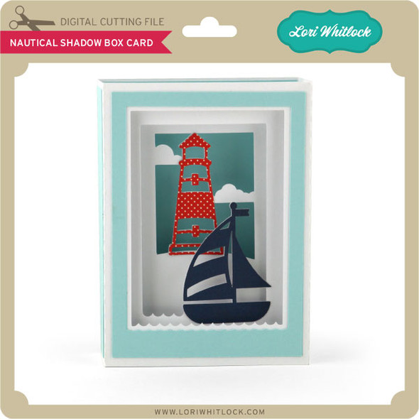 Nautical Shadow Box Card