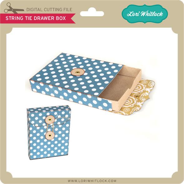 String Tie Drawer Box