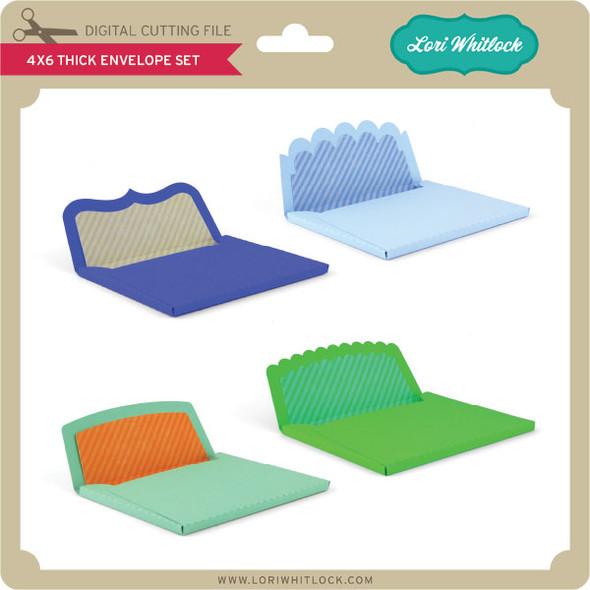 4x6 Thick Envelope Set