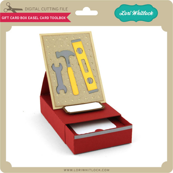 Gift Card Box Easel Card Toolbox