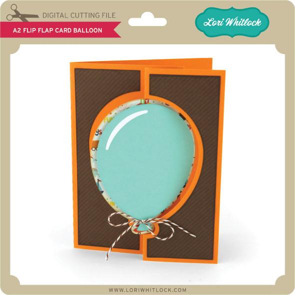 A2 Flip Flap Card Balloon