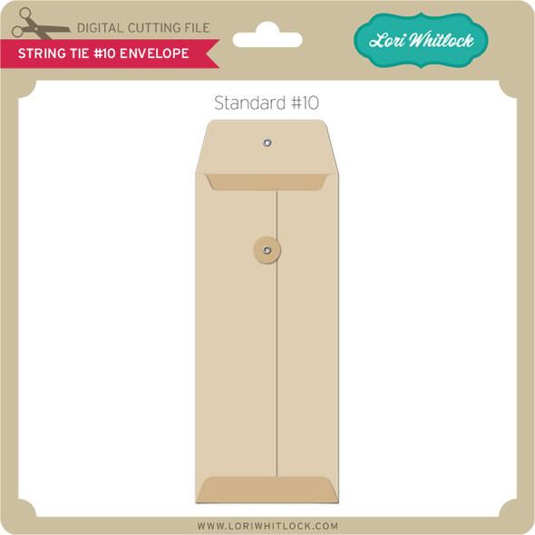 String Tie No10 Envelope