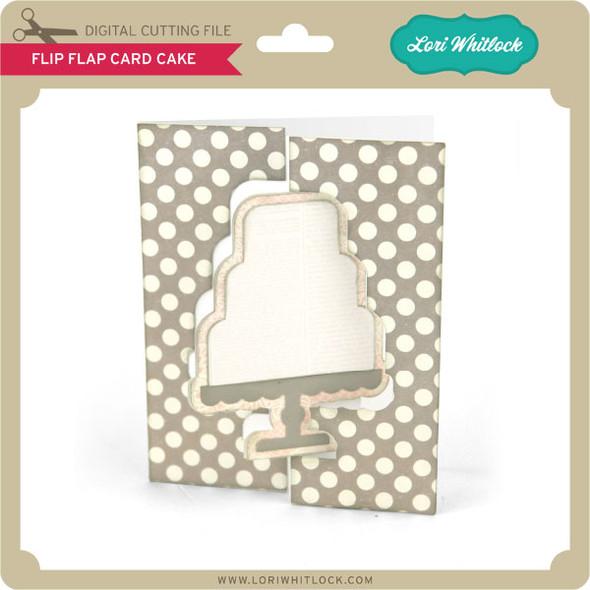 Flip Flap Card Cake