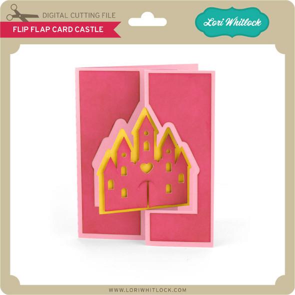 Flip Flap Card Castle