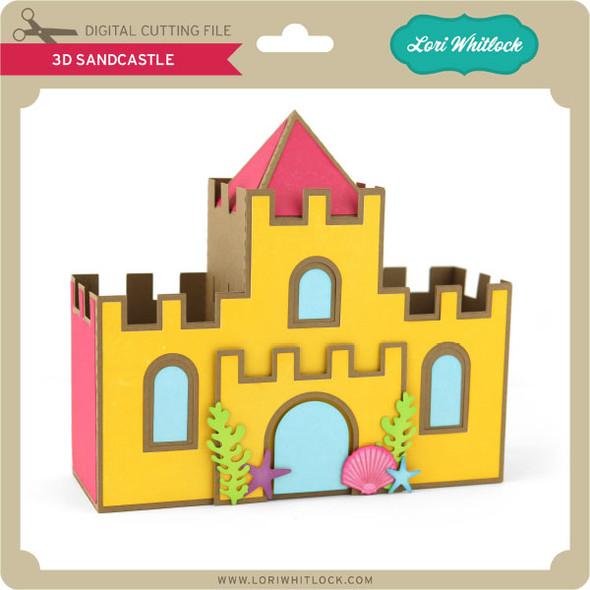 3D Sandcastle