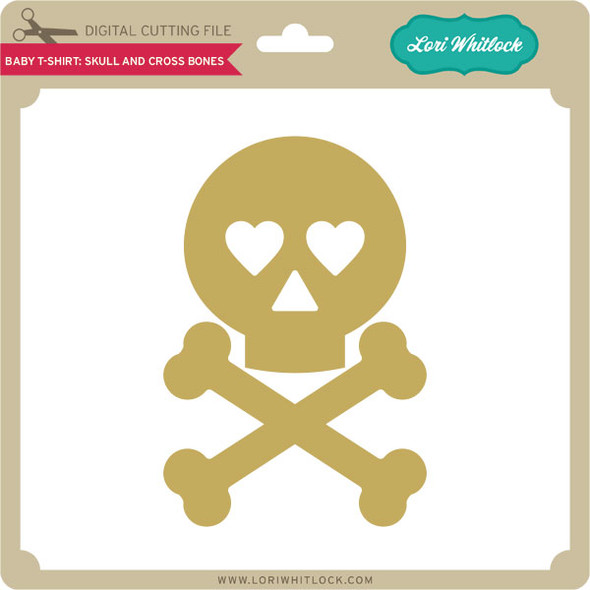Baby T Shirt Skull and Cross Bones