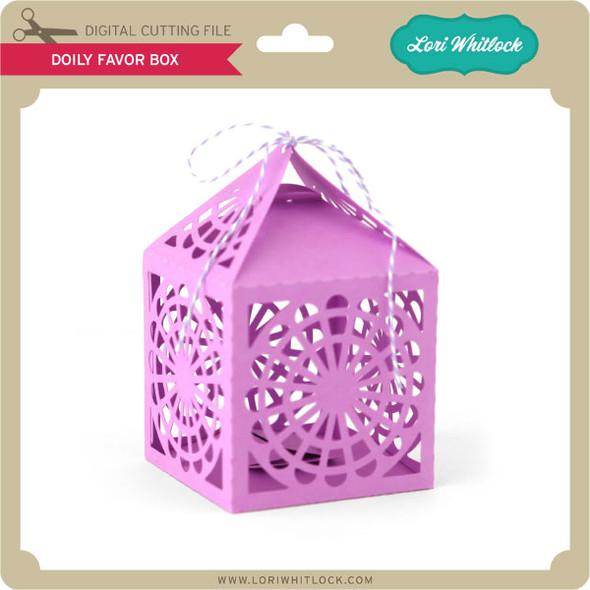 Doily Favor Box