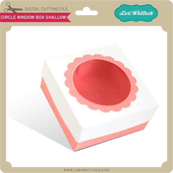 Circle Window Box Shallow