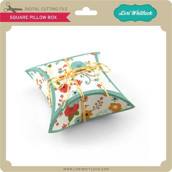Square Pillow Box
