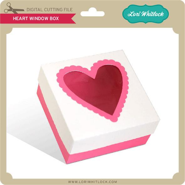 Heart Window Box