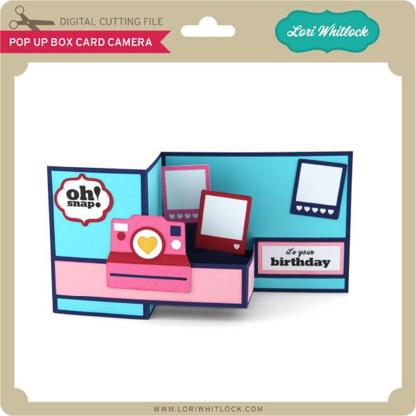 Pop Up Box Card Camera