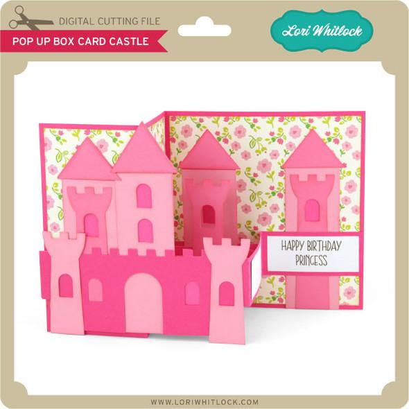 Pop Up Box Card Castle