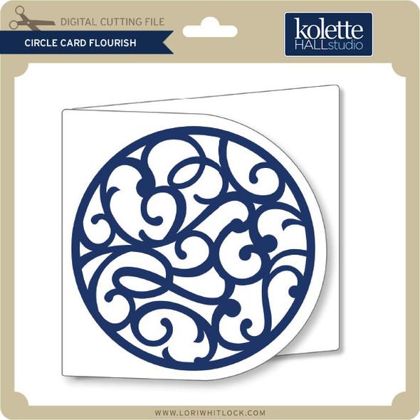 Circle Card Flourish