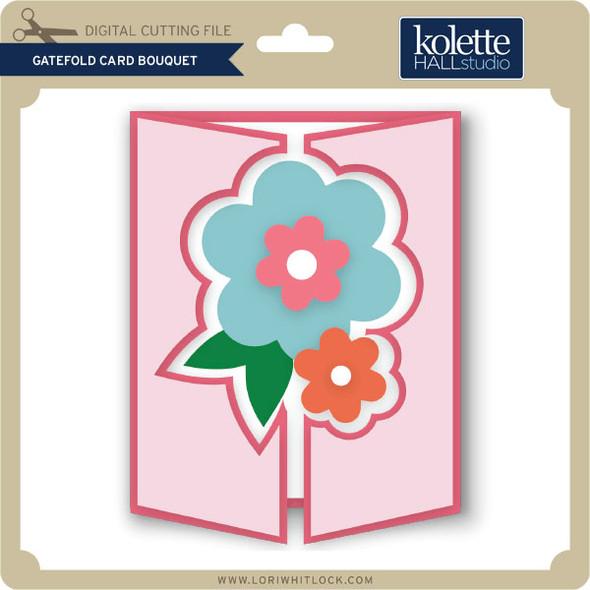 Gatefold Card Bouquet