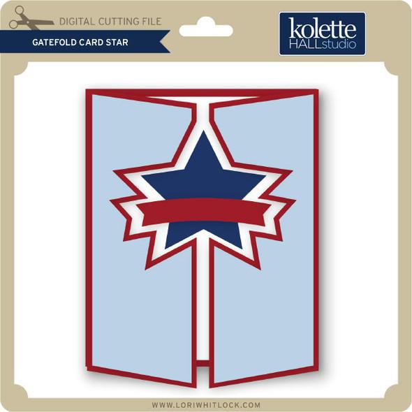Gatefold Card Star