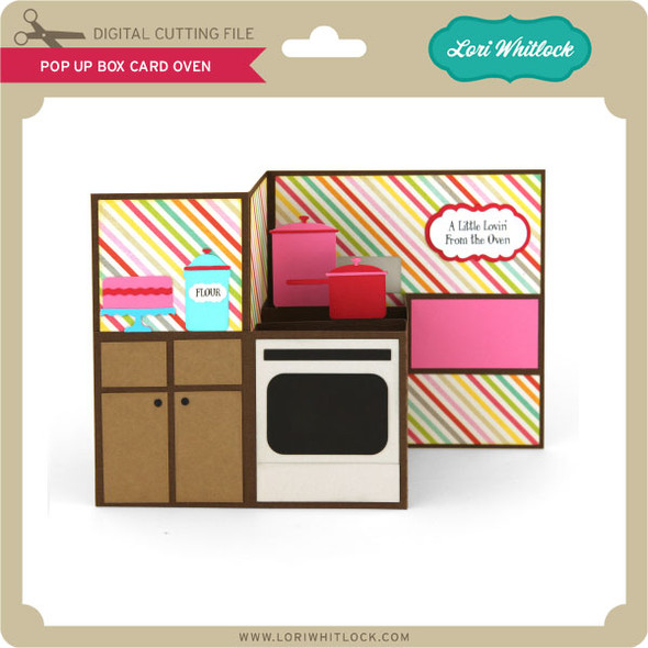 Pop Up Box Card Oven