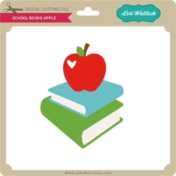 School Books Apple