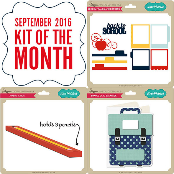 2016 September Kit of the Month