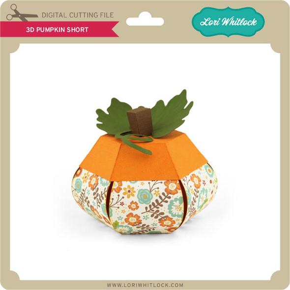 3D Pumpkin Short
