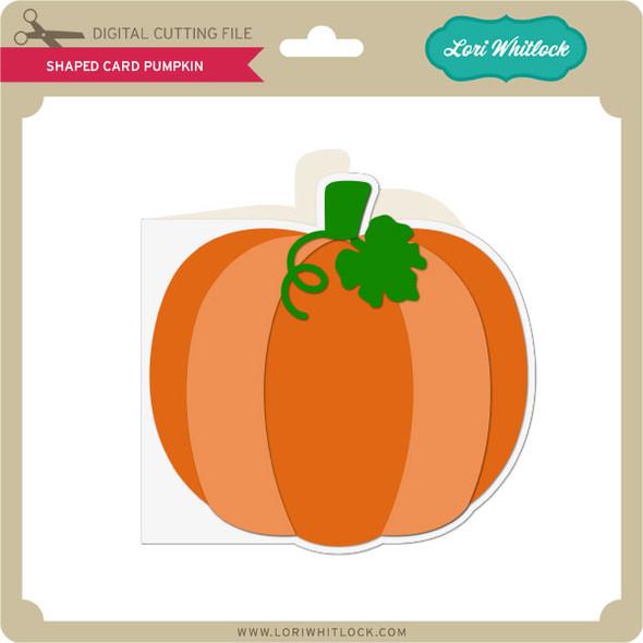Shaped Card Pumpkin