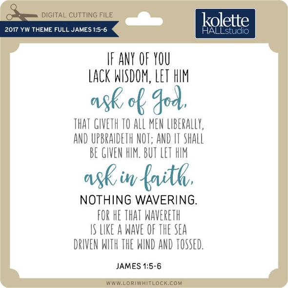 2017 YW Theme Full James 1 5 6