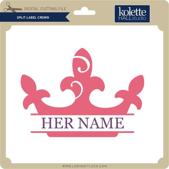 Split Label Crown